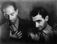 self portrait with irving berlin by george gershwin