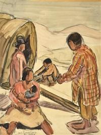 nomades sur la route de tamatave by maurice le scouezec