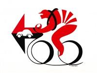 ciclista by armando testa