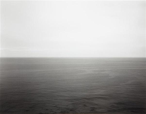 north atlantic ocean, martha's vineyard by hiroshi sugimoto