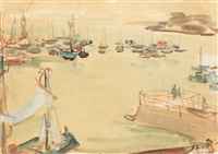 douarnenez quay by max arnold