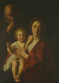 la sainte famille by jacob jordaens