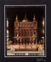 collage/découpe cinétique, palais garnier by césar