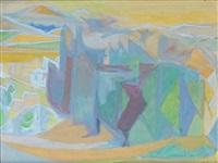 paysage méridional by andré lhote