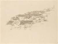 roma (+ sottocastello, pencil; 2 works) by robert sargent austin