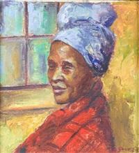 herero woman by stella shawzin