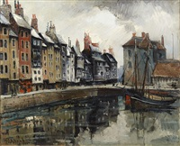honfleur le grand bassin by frank-will