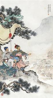 岳飞像 by liu weiliang