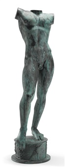 sun singer (torso) by carl (wilhelm emile) milles
