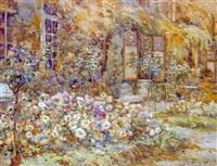 massif de fleurs dans un jardin by ketty gilsoul-hoppe