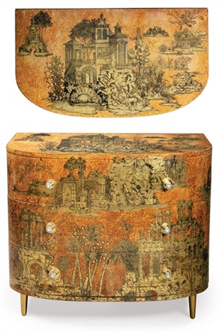 coromandel commode by piero fornasetti