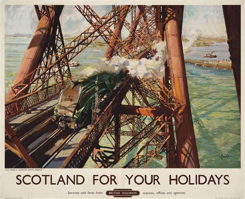 scotland for your holidays by terence cuneo