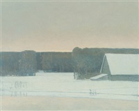 Winter Evening, 1982