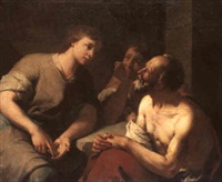 joseph interpreting the prisoners' dreams by giuseppe angeli