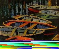 fishing skiffs by jonathan scott