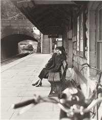 brief encounter wenda on the station by norman parkinson