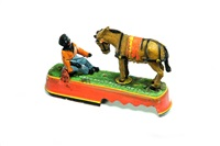 always did 'spise a mule mechanical bank by j & e stevens co