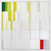 25 quadrate über den farbweg grün-gelb-weiß-rot-grau und zurück by heinz kreutz