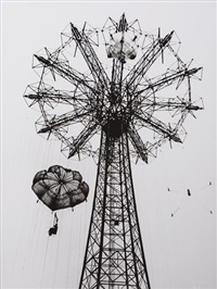 coney island parachute jump by paul himmel