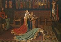 sainte elisabeth de hongrie by jean-baptiste anthony