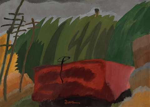 freight car by arthur dove
