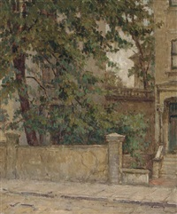 street in maida vale by kalman kemeny
