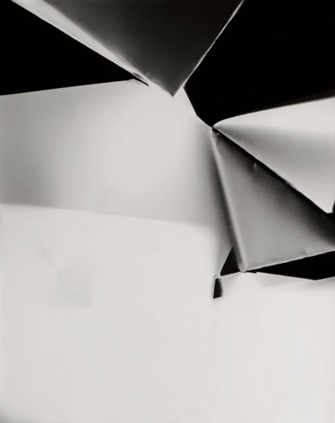 black white fold 2 by walead beshty