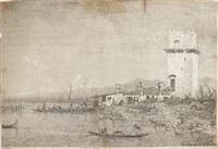 la torre di malghera by canaletto