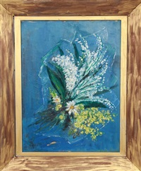 untitled - daisy bouquet by lloyd lozes goff