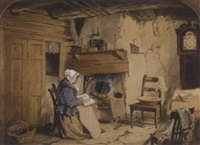 granny's fireside by robert anderson