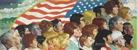 spirit of america by norman rockwell