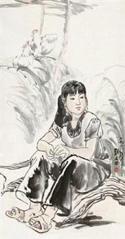 少女 by liu wenxi
