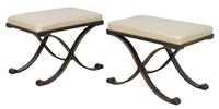 lyon stools (pair) by kreiss furnishings