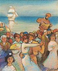 le fête au bord de l'eau by ramón pichot girones