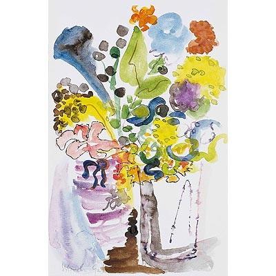 Jarrón con flores by Menchu Gal on artnet