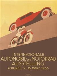 internationale automobil und motorrad ausstellung by hermann kosel