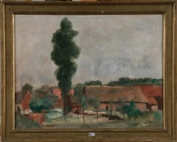 paysage à la ferme by paul maas