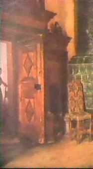 kvinna i interior by marcus gronvold
