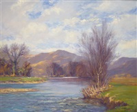 a highland river by augustus william enness