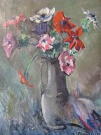 composition florale by czeslaw zawadzinski