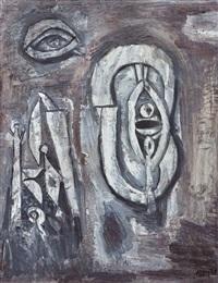 formas abstractas con ojo by julio alpuy