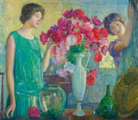 the flower arrangement by george laurence nelson