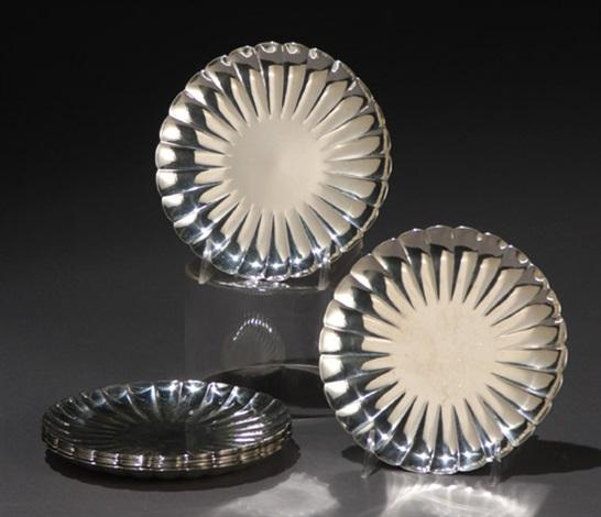 plates set of 11 by asahi shoten co