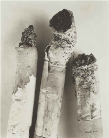 cigarette no123 new york by irving penn