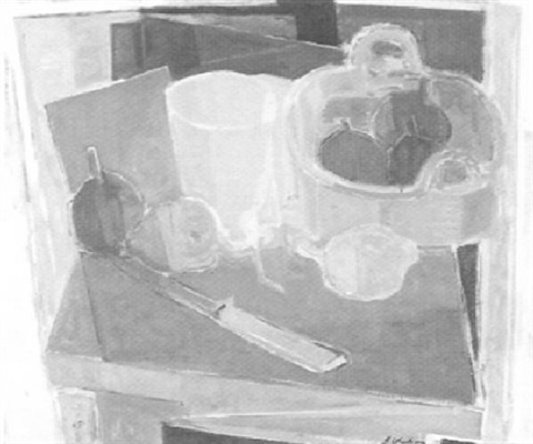 still life by alfred vachon