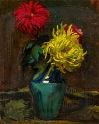 crysanthemen by josef dobrowsky