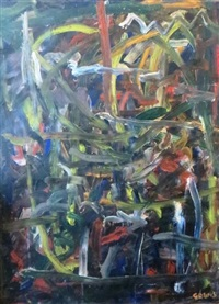 composition abstraite: le chemin de raguse by pierre gogois