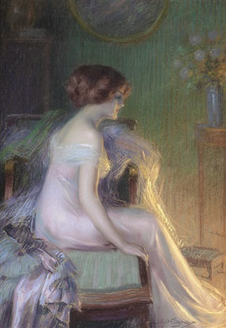 by the fireside by delphin enjolras