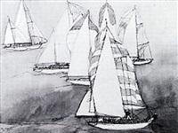 san diego - acapulco yacht race by franklin mcmahon