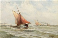 headed for the harbor by otis weber